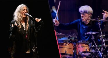 Combinación ganadora: Patti Smith y Stewart Copeland se unen para cantar a favor de los migrantes