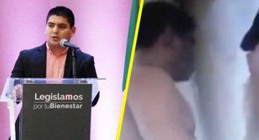 Difunden supuesto video de diputado de Morena teniendo relaciones en su oficina