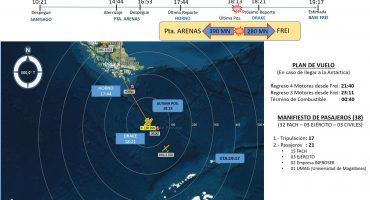 Desaparece aeronave de la Fuerza Aérea de Chile con 38 pasajeros, la declaran