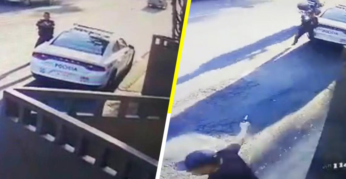 ¡Héroe! Policía se enfrenta contra cinco delincuentes en la Álvaro Obregón y frustra robo