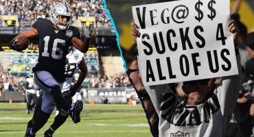 Los Raiders se despiden de Oakland con una amarga derrota ante los Jaguars
