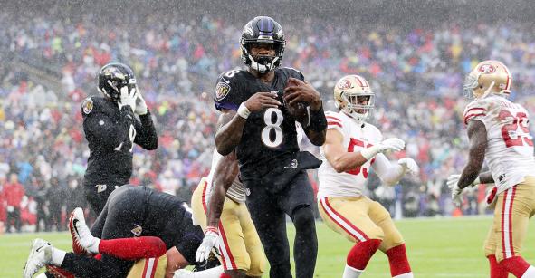 Ravens le pone el alto a los 49ers en el