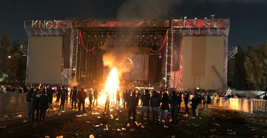 Desde Evanescence hasta los fans: Así las reacciones de la gente ante el fracaso del KnotFest 2019