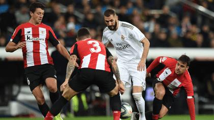 Athletic desactiva a Benzema y el Madrid se queda sin gol; Barcelona es el único líder