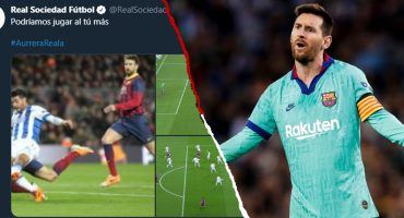¡Tómala! Real Sociedad le responde al Barcelona por sus 'quejas' con el VAR