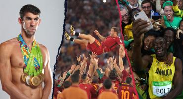 Phelps, Bolt, Totti, Márquez, Ronaldo... Los retiros que marcaron la década en el deporte