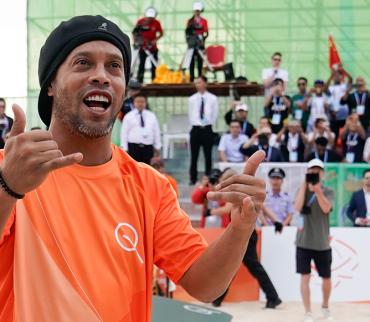 Ronaldinho jugará amistoso en Morelos la próxima semana y Cuau lo hará ciudadano distinguido