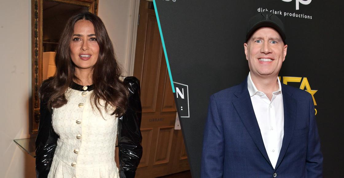 """""""Su nombre fue el 1ro nuestra lista"""": Kevin Feige sobre Salma Hayek en 'Eternals' del MCU"""