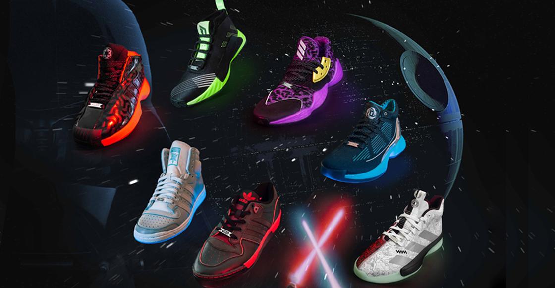 ¡Tomen todo nuestro dinero! Así lucen los nuevos adidas de 'Star Wars'