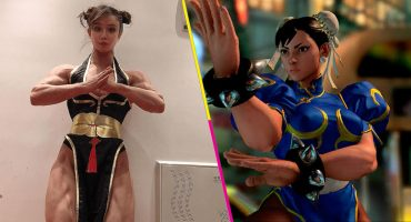¡Es igualita! Una modelo sorprendió por su parecido con Chun-Li de' Street Fighter'