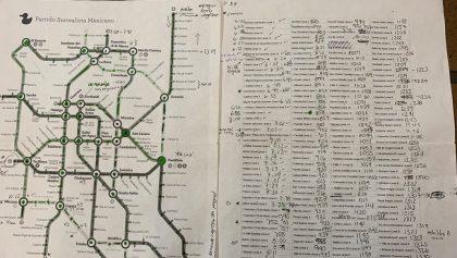 Este es el tiempo que te tomaría atravesar todas las estaciones del metro de la CDMX