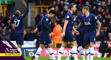 Jiménez asiste, Vertonghen 'mata' sobre el final y Tottenham le ganó a los Wolves