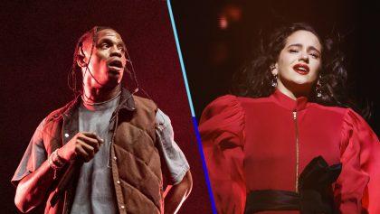 Travis Scott y (La) Rosalía liberan nueva colaboración 'HIGHEST IN THE ROOM'