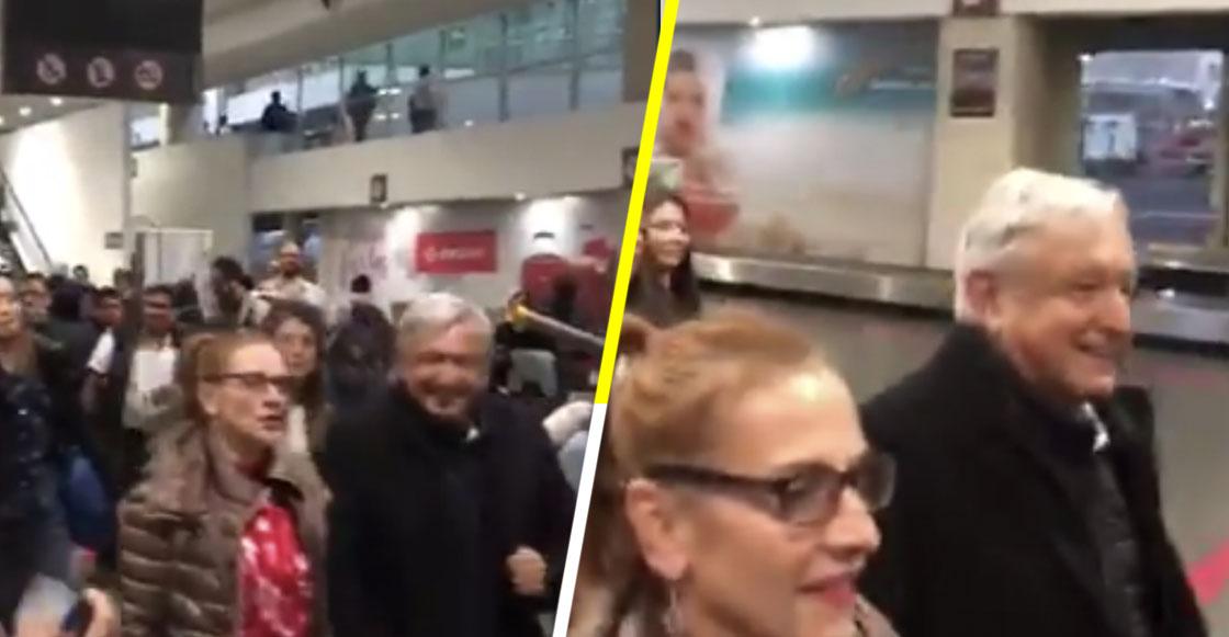 """Ciudadano reclama a AMLO por aeropuerto de Texcoco; Secretaria de Energía le responde """"Pues vete a la Tapo"""""""