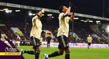 Manchester United se mete a puestos de Europa League tras ganarle al Burnley