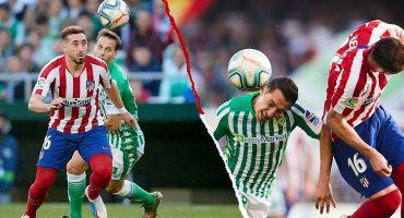 Así le fue a los mexicanos en la victoria del Atlético de Madrid sobre Betis