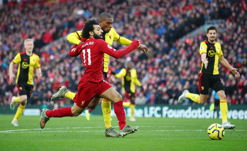 Liverpool venció por la mínima al Watford con un GOLAZO de Mohamed Salah
