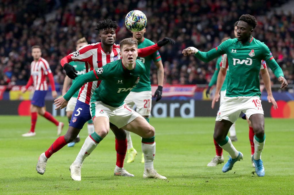 Atlético de Madrid obtuvo sufrido pase a Octavos tras vencer al Lokomotiv