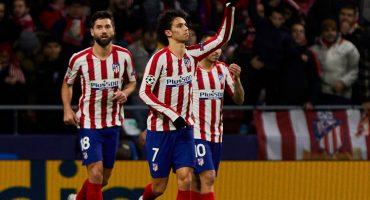 Atlético a octavos, Lokomotiv 'no se presentó' y 'HH' jugó 23 minutos