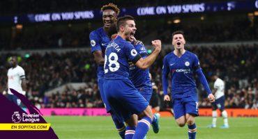 Chelsea se llevó el Derbi de Londres ante Tottenham con doblete de Willian