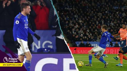 Par de goles 'al filo del VAR' le dieron milagroso triunfo al Leicester sobre Everton
