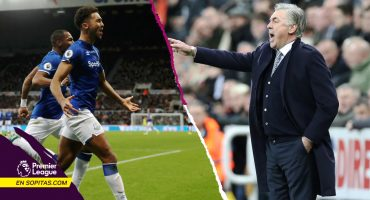 Sigue la magia: Ancelotti y su Everton vencieron a domicilio al Newcastle