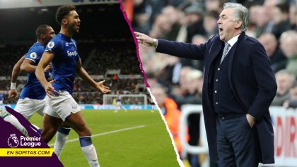 Sigue la magia: Ancelotti y su Everton vencieron a domicilio al Newcastle