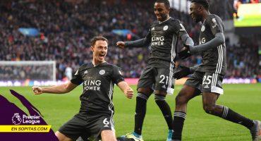Leicester venció al Aston Villa y se confirma como rival único del Liverpool por la Premier