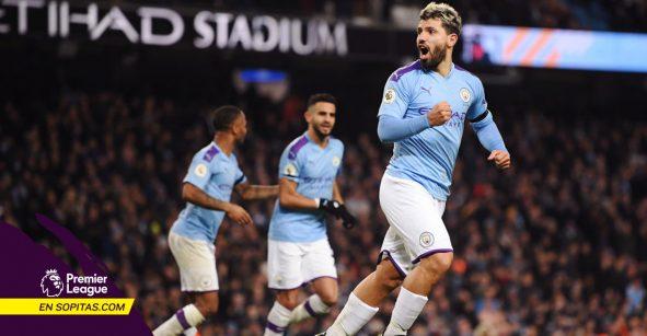Manchester City cerró el año con victoria ante el Sheffield… y a 14 del Liverpool