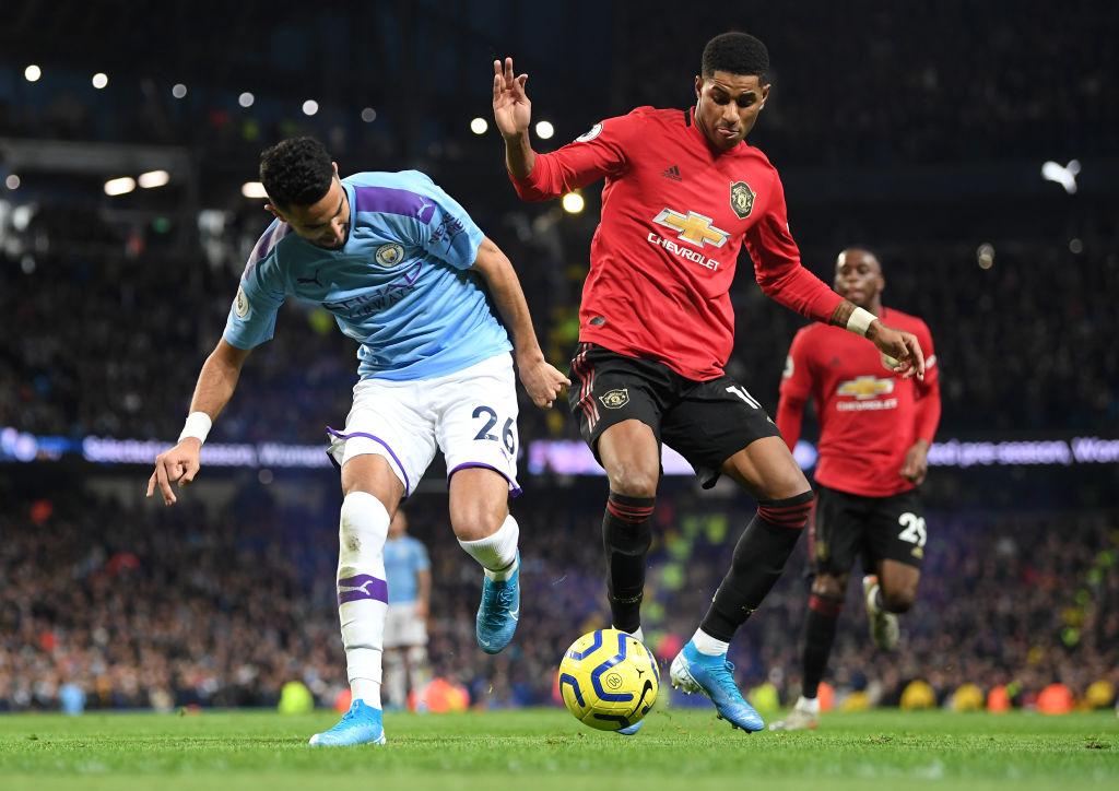 El United se llevó el Derbi de Manchester ante un City que extraña al 'Kun' Agüero