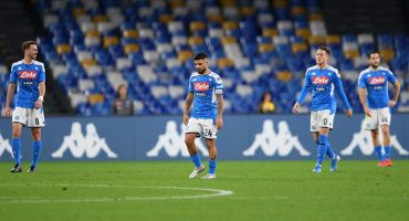 Napoli entra en crisis y acumulan ya mes y medio sin ganar un partido