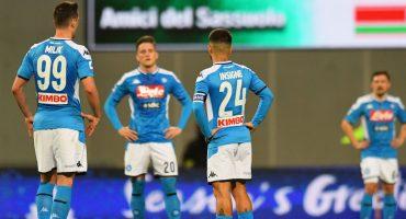 Napoli volvió a ganar luego de 2 meses y con el 'Chucky' en la banca