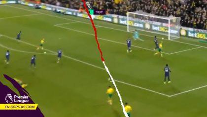 Polémica en el VAR, autogol de Aurier y Kane rescató el empate para el Tottenham