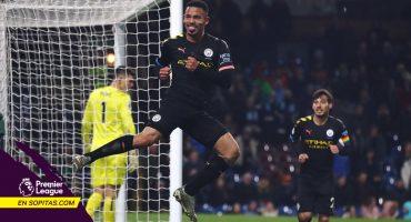 Manchester City se aferra en la lucha por la Premier con triunfo ante Burnley