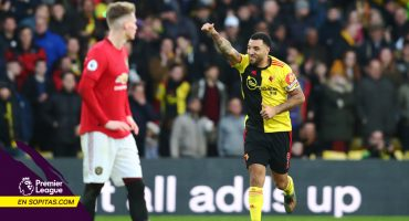 Watford y sus 5 minutos de 'inspiración' para derrotar al Manchester United