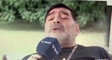El video de Maradona cantando en italiano que se ha hecho viral