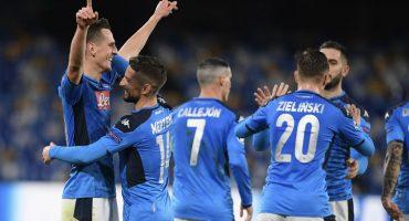 Hat-trick de Milik, victoria luego de 10 partidos y Napoli califica en la Champions