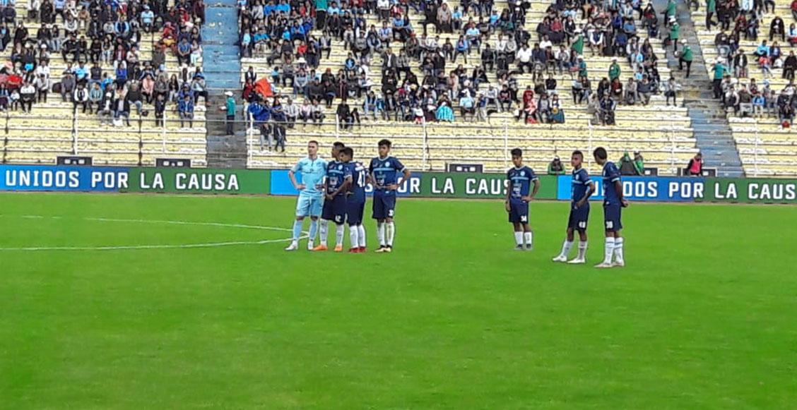 Equipo en Bolivia estaba siendo goleado y prefirió rendirse al medio tiempo