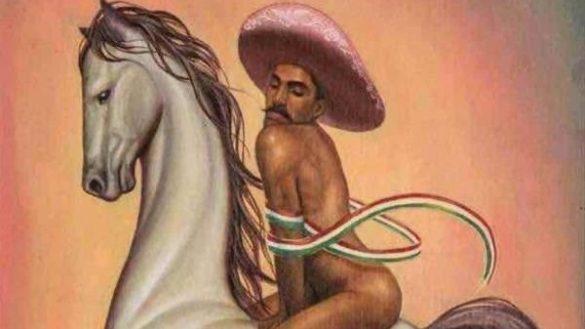 "Zapata en ""La Revolucion"" de Cháirez"