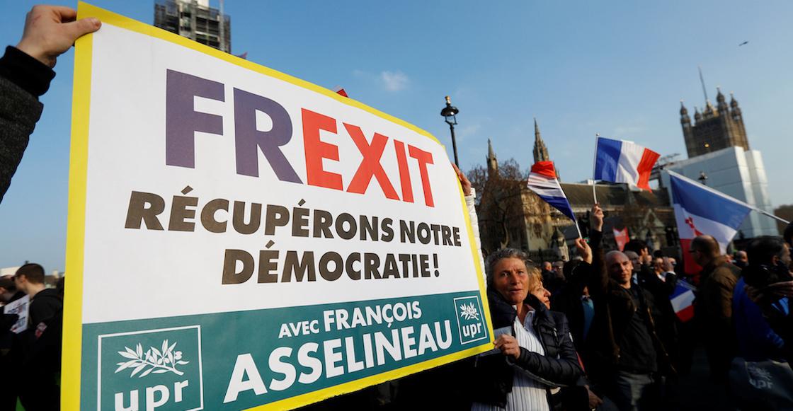 Frexit, Dexit, Swexit: Los movimientos que quieren decirle 'adiós' a la Unión Europea