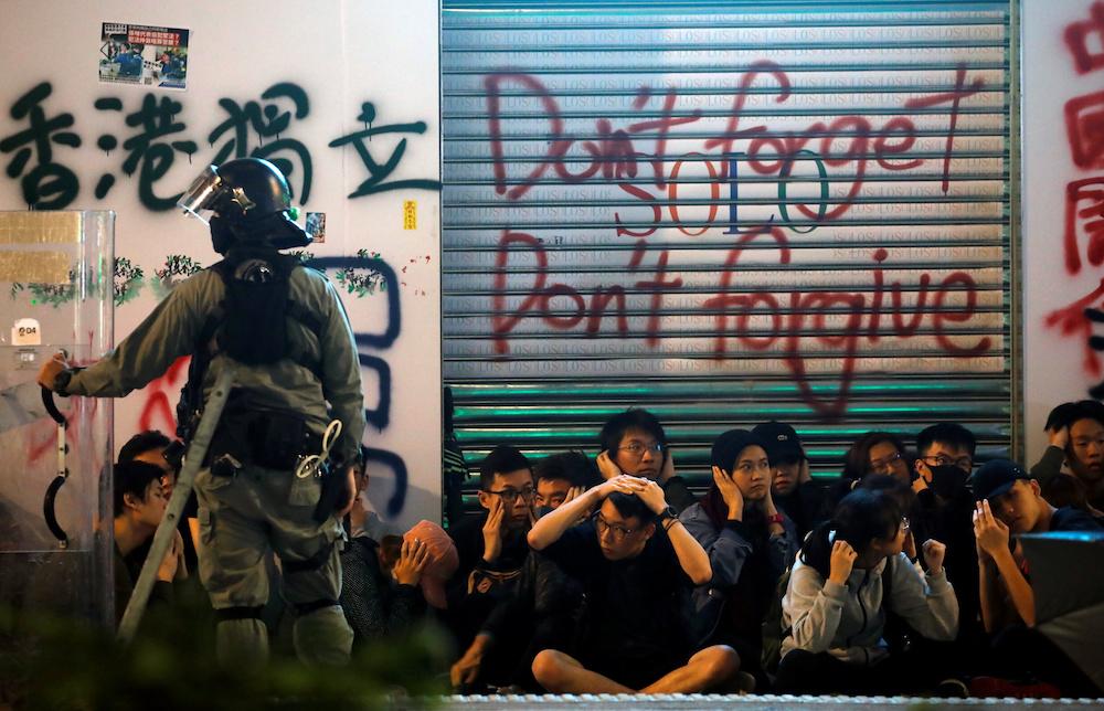 Hong-Kong-manifestación-año-nuevo-2020