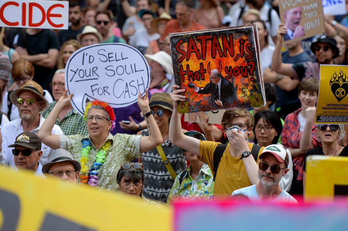 scott-morrison-protestas-australia-incendios