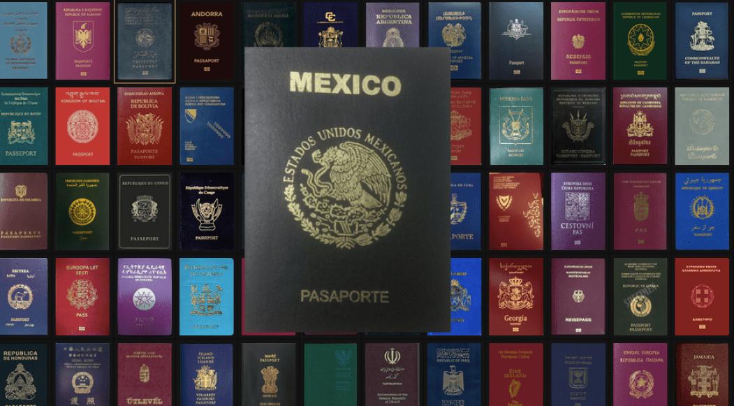 México entre los pasaportes más poderosos del mundo en 2020