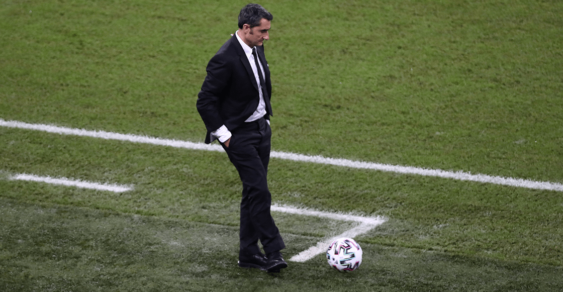 Barcelona habría decidido rescindir el contrato de Ernesto Valverde