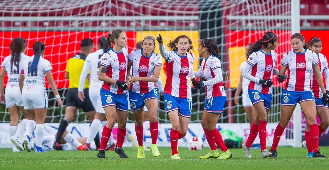 Chivas Y Cruz Azul Empatan En La Primera Jornada De La Liga Mx Femenil