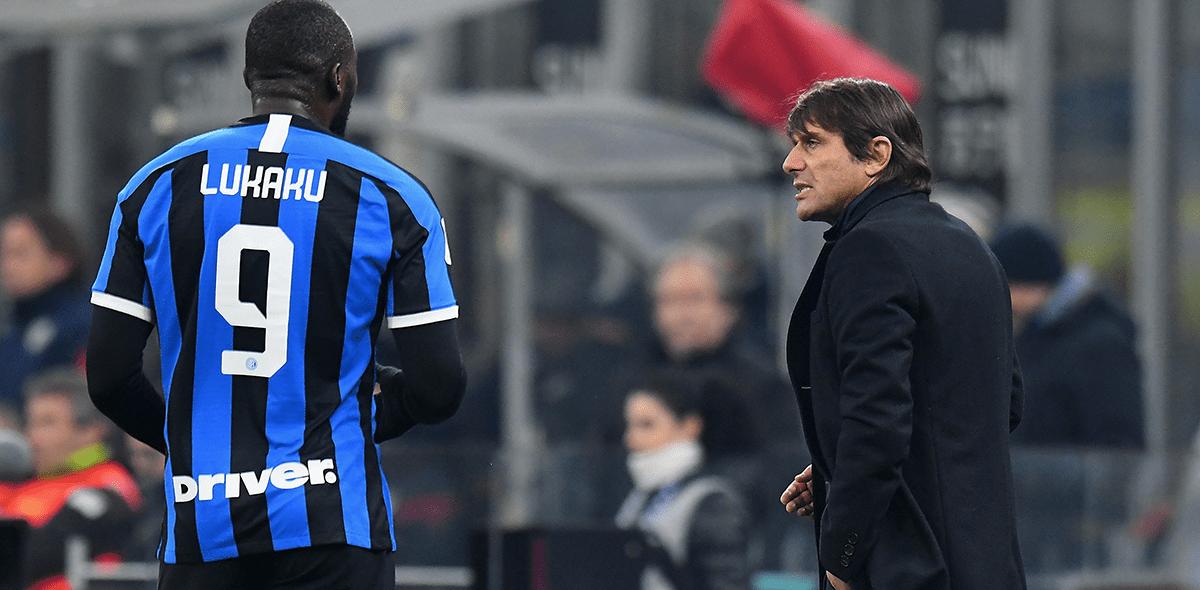 """El día que Conte llamó """"basura"""" a Lukaku en el vestidor del Inter"""