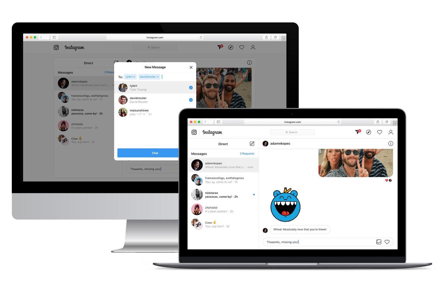 instagram pronto permitirá enviar mensajes privados