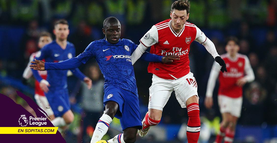 Resbalón de Kanté a lo Gerrard y un golazo de Bellerín marcaron el empate entre Chelsea y Arsenal