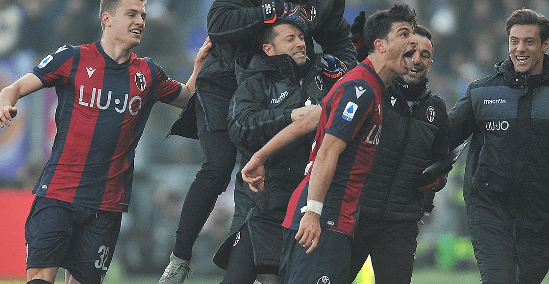 El GOLAZO de Riccardo Orsolini con el que Bolonia le empató a la Fiorentina