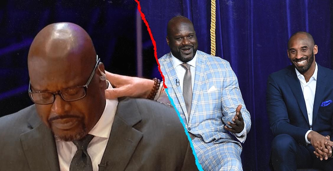 """""""Esto me cambia"""": El llanto de Shaquille O'Neal al hablar de Kobe Bryant"""